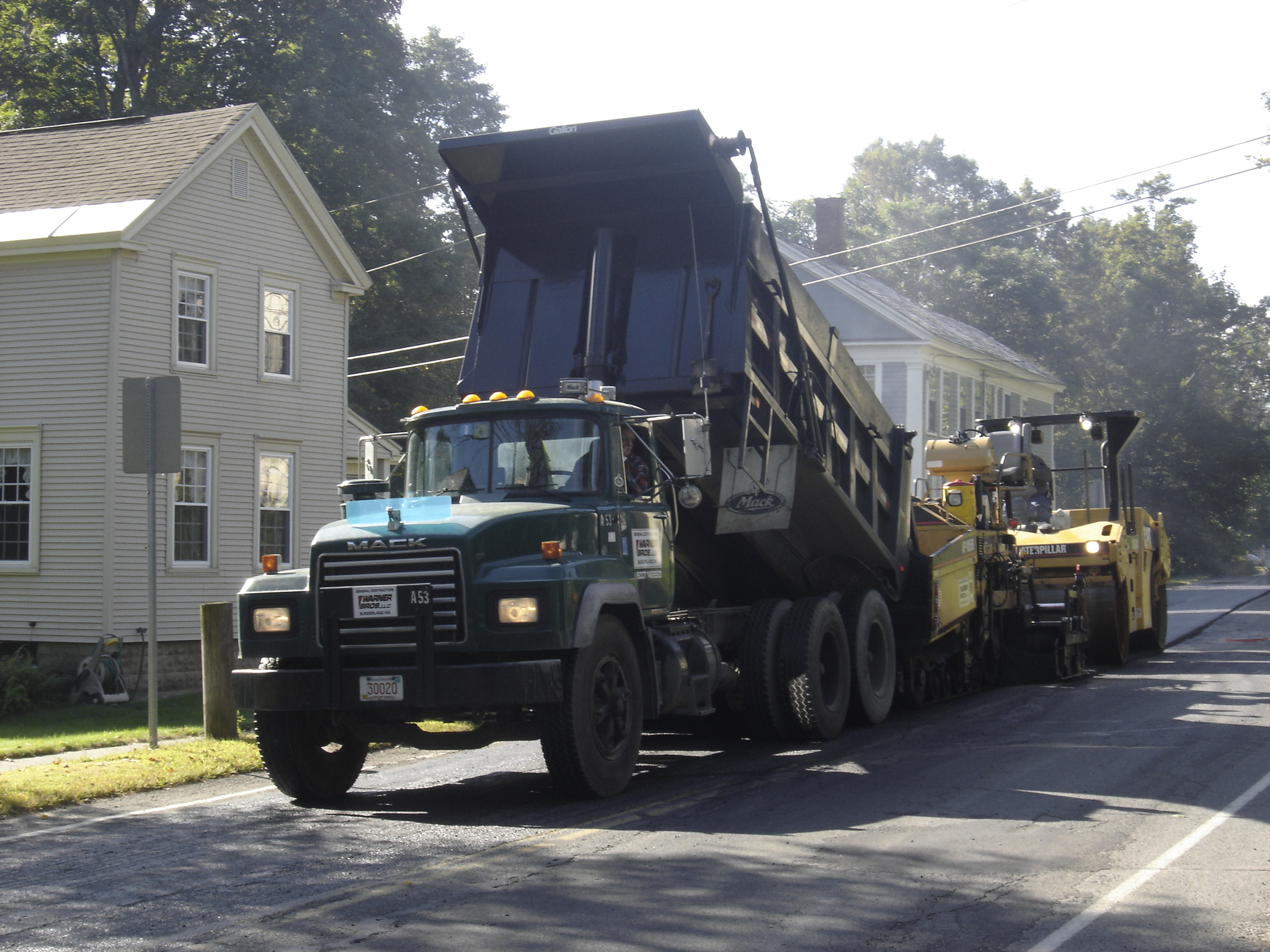 Road Paving in Montague Center